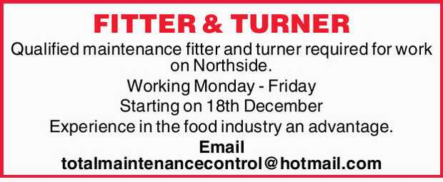 FITTER & TURNER