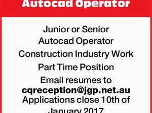 Autocad Operator