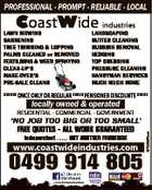 Coast Wide Industries PTY LTD