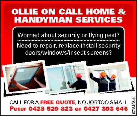 "<p align=""LEFT"" dir=""LTR""> <span lang=""EN-AU"">Worried about security or flying pest? <br /> Need to...</span></p>"
