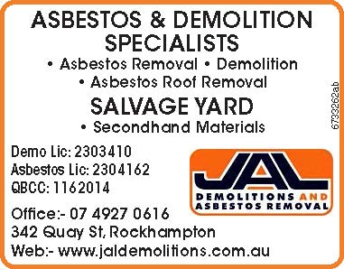 ASBESTOS & DEMOLITION