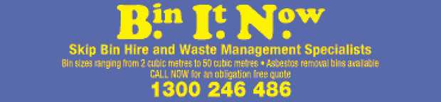 Skip Bin hire and Waste Management Specialists   Bin sizes ranging from 2 cubic metres to 50...