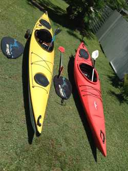 1x Nemo Point 65 N  Swedish, incl paddle, life jacket, rod holder, cockpit cover. Stable, easy to pa...