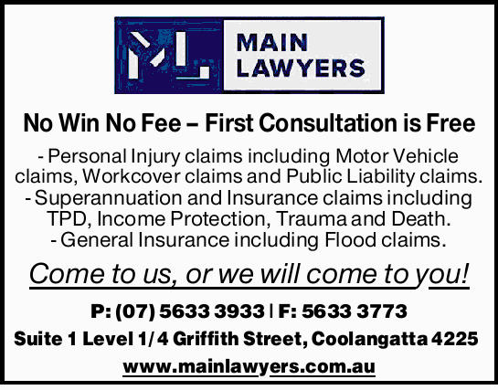 No Win No Fee - First Consultation is Free
