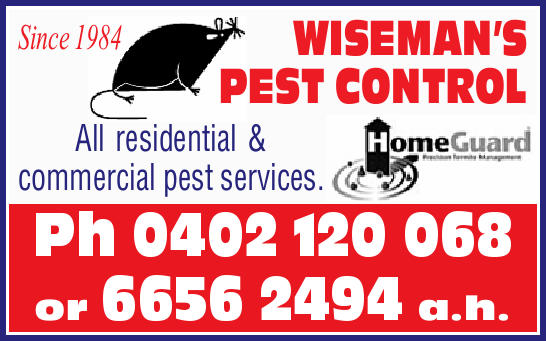 Since 1984  All residential & commercial pest services.