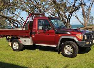 GXL Landcruiser Ute 2009