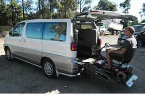 Disability Vehicle Nissan Elgrand Auto