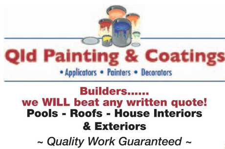 <p> Builders......<br /> we WILL beat any written quote!<br /> Pools - Roofs - House Interiors</p>