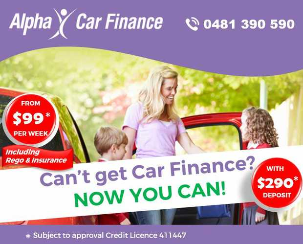 ALPHA CAR FINANCE   From $99* Per Week   Including Rego & Insurance   Can't g...