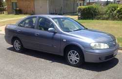 NISSAN Pulsar Sedan, 2005, auto, air conditioned and power steering, immaculate condition $4990on...