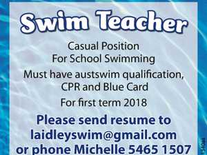 SWIM TEACHER