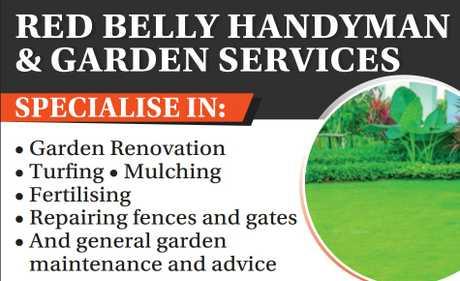 "<p align=""LEFT"" dir=""LTR""> <span lang=""EN-AU"">Welcome to Redbelly Handyman and Garden...</span></p>"