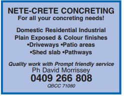 For all your concreting needs!