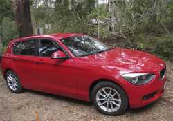 F20 Auto , one owner, all services completed by BMW, 71000kms, rear sensor, spare tyre.  In very goo...