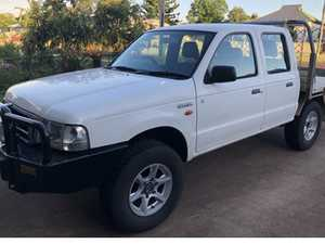 FG Ford Courier 4x4