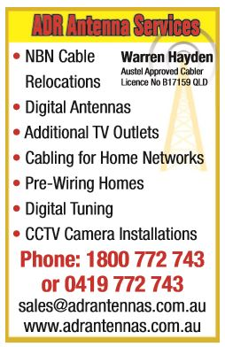 NBN Cable Relocations  Digital Antennas  Additional TV Outlets ...