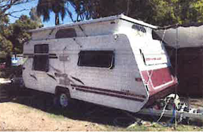 2004 MAJESTIC Gold Tourer pop top, 17'6, H/D axle, new R/O annex, canvas & s/cloth, fro...