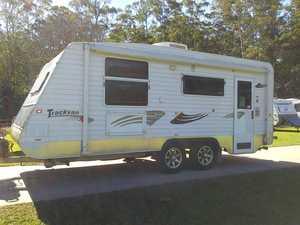 2010 Trackvan tourx caravan