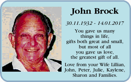 John Brock