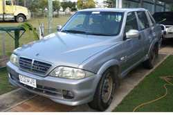 SANGYONG Ute 2006, sports turbo diesel ute. 264000 klms, fair condition, unregistered, $2,200.00...