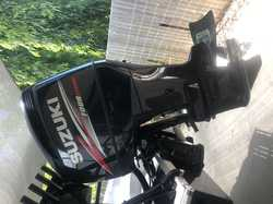 2016 Suzuki 250 Four stroke.   70 Hours. Still on boat for testing.   Comes with some gau...