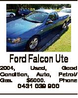 Ford Falcon Ute