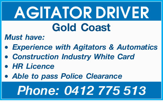 AGITATOR DRIVER 
