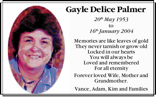 Gayle Delice Palmer