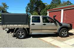 2004 Holden Rodeo dual cab, 3L turbo diesel, manual, extras, no beach, excell cond, 286,500klms,...