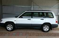 2000 Subaru Forester wagon GX, auto, extras, 123,600klms, excel cond in & out, all books from...