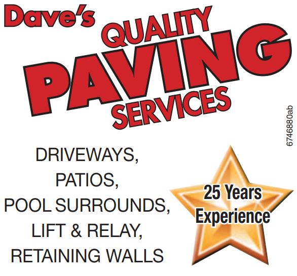 Dave's QUALITY PAVING SERVICES