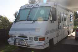 FREEWAY 1994 Isuzu reg 535TTI, engine 4.3 diesel, length 7650, toilet, shower, heater, d/bed, gas...