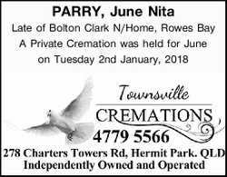 Late of Bolton Clark N/Home, Rowes Bay