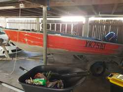 12 ft Tinny - Good condition - No Rust - 9.9 Mercury Motor - Goes well - Starts 1st pull- Smooth wat...
