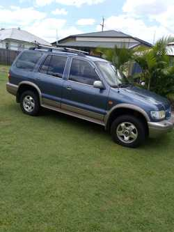 4x4, low kms, v/g condition. Will pass any roadworthy,