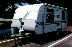 ROYAL FLAIR POPTOP 14', 1998, 3 way frig, gas stove, island bed, rollout awning, VGC, new t...