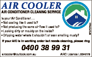 AIR CONDITIONER CLEANING SERVICE