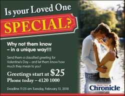 ne O d e v o L r u o y Is ? L a I c e sp Send them a classified greeting for Valentine's Day - a...