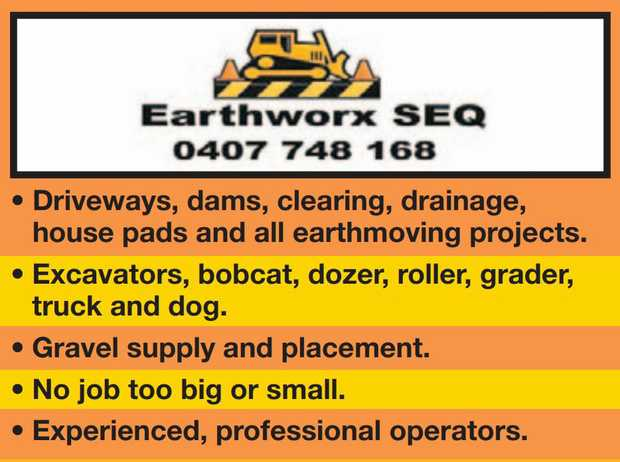 • Driveways, dams, clearing, drainage,
