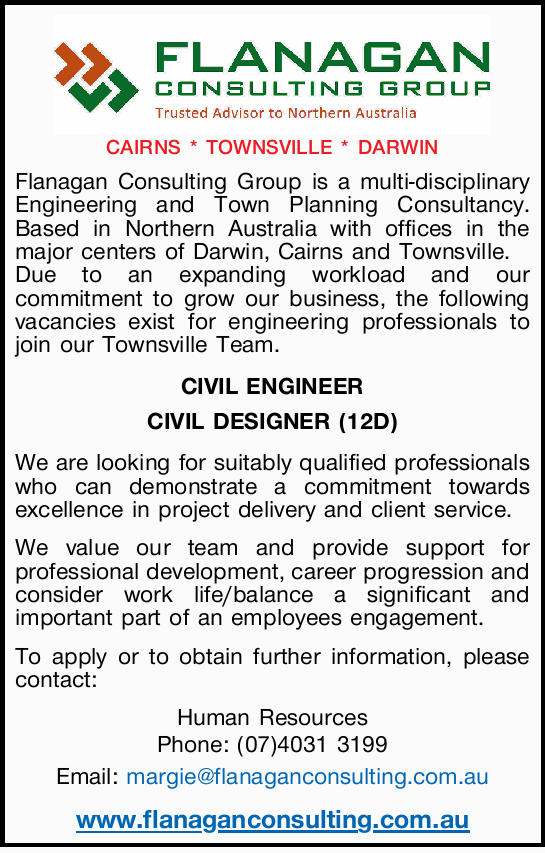 Flanagan Consulting Group is a multi-disciplinary Engineering and Town Planning Cons...