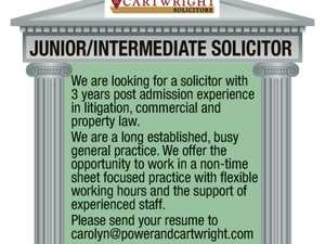 Junior Intermediate Solicitor