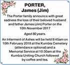 PORTER, James (Jim)