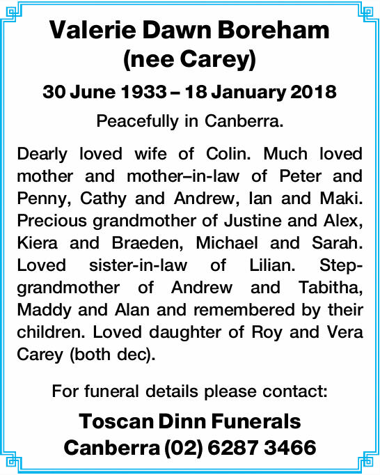 (nee Carey)