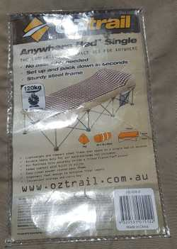 Single Inflatable Mattress VGC
