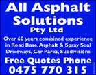 All Asphalt Solutions Pty Ltd
