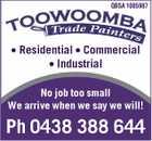 Toowoomba Trade Painters