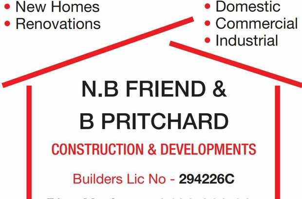 N.B FRIEND & B PRITCHARD    CONSTRUCTION & DEVELOPMENTS     New Homes  Re...