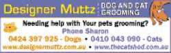Needing help with your pet's grooming?   Phone Sharon   0424 397 925 - Dogs * 0410 04...