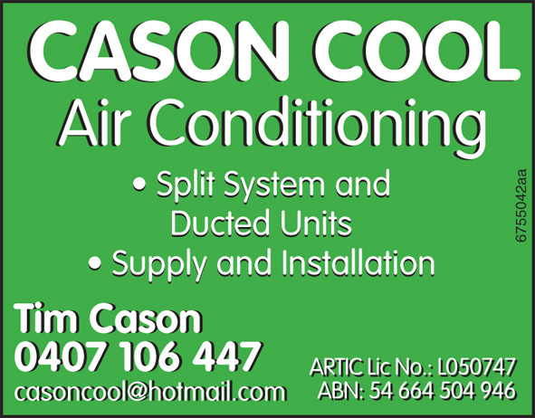 Air Conditioning Secialist