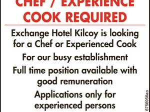Chef / Experience Cook Needed